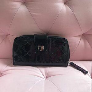 Loungefly Black hello kitty wallet